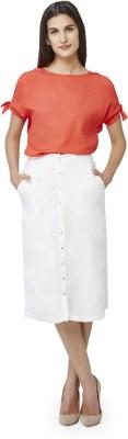 Sassafras Women A-line White Dress