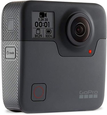 GoPro Action Camera Fusion Sports and Action Camera Black, 18 MP GoPro Sports   Action