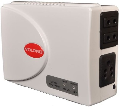 VOLPRO LED / LCD / SMART TELEVISION Voltage Stablizer(White)  available at flipkart for Rs.2499