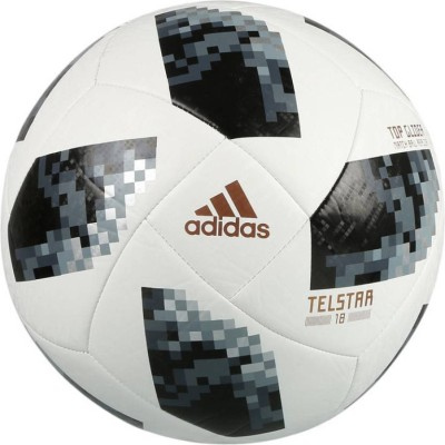 ADIDAS World Cup 2018 Football   Size: 5 Pack of 1, White, Black ADIDAS Footballs