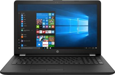 HP 15q Core i3 7th Gen - (4 GB/1 TB HDD/Windows 10 Home) 15q-bu040tu Laptop  (15.6 inch, Sparkling Black, 1.86 kg)