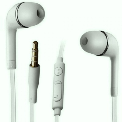 LS Letsshop YS Earphone with Mic and for Galaxy S2 -S3-S4-S5-S6-S6 Edge - S7 -S8 -S8 Plus and Some Android Smartphones Wired Headset with Mic(White, In the Ear)