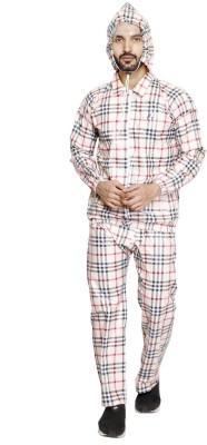 AD & AV Checkered Men's Raincoat