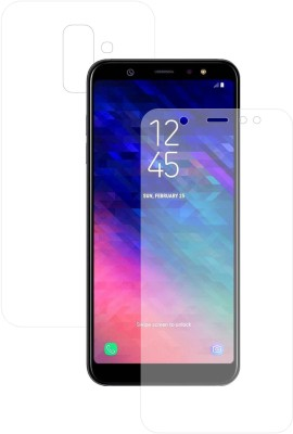 Case Creation Front and Back Screen Guard for Samsung Galaxy A6 2018(Pack of 2)