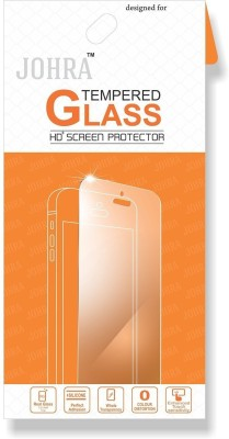 Johra Tempered Glass Guard for Samsung A8 Plus, Samsung Galaxy A8 Plus(Pack of 1)