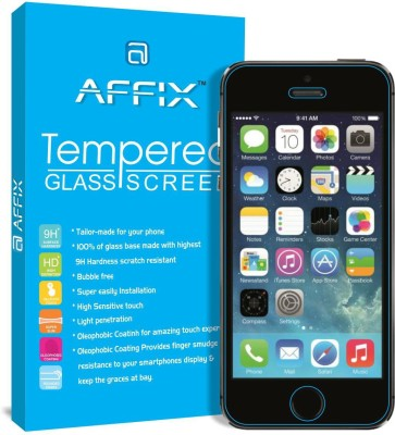 Go4Shopping Tempered Glass Guard for Apple iPhone 5s, Apple iPhone 5, Apple iPhone 5c(Pack of 1)