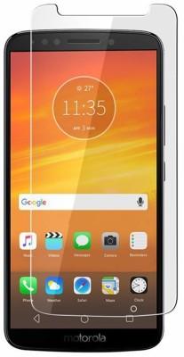 MRNKA Tempered Glass Guard for Motorola Moto E5(Pack of 1)
