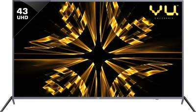 VU Iconium 43 inch Ultra HD (4K) LED Smart TV is a best LED TV under 25000