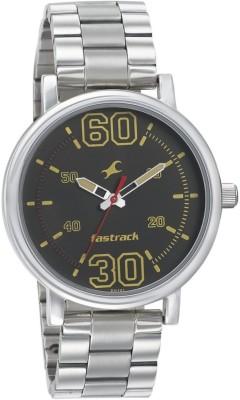 Fastrack NN38052SM02 Fundamentals Analog Watch   For Men Fastrack Wrist Watches