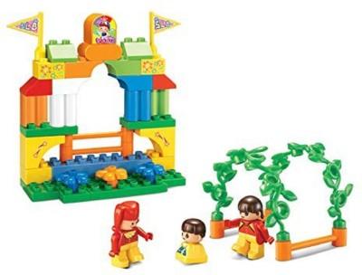 Sluban Amusement Park Building Block Toys | LEGO Compatible | Educational Gift Toys For Kids | M38 B6023  44 Pcs  Multicolor Sluban Blocks   Building