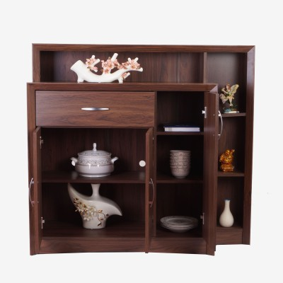 Eros Legit Engineered Wood Free Standing Cabinet(Finish Color - Wenge)