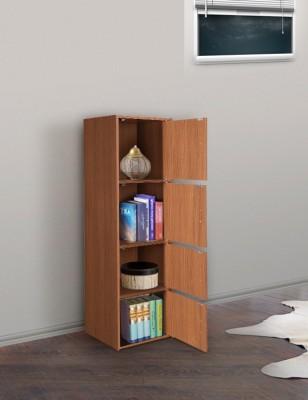 HomeTown Albert Engineered Wood Free Standing Cabinet(Finish Color - OAK, Door Type- Framed Sliding)