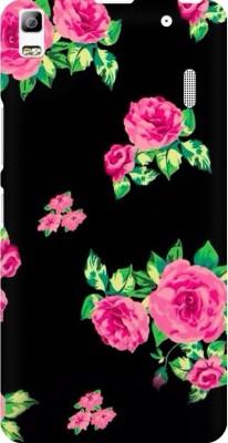 COBIERTAS Back Cover for Lenovo K3 Note(Pink Floral Design)