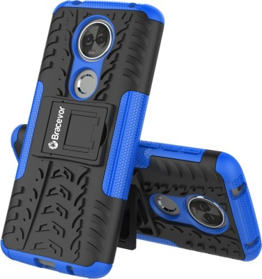 Bracevor Back Cover for Motorola Moto E5 Plus(Blue, Rugged Armor, Polycarbonate, Silicon)