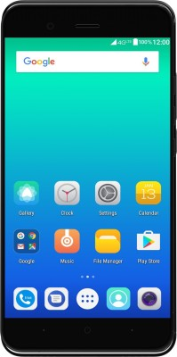 Yu Yunique 2 Plus (Coal Black, 16 GB)(3 GB RAM) at flipkart