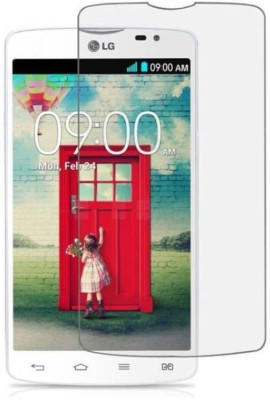 RM WORLD Tempered Glass Guard for LG L80(Pack of 1)