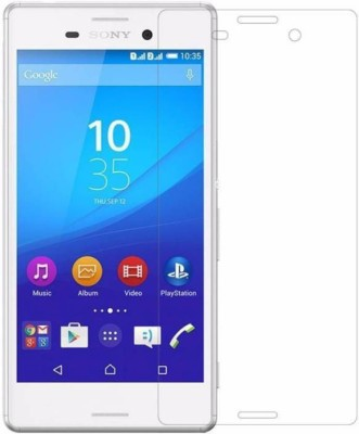 REZAWZ Tempered Glass Guard for Sony Xperia M4 Aqua Dual(Pack of 1)