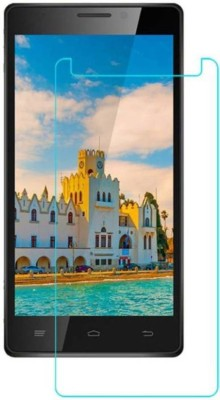 RM WORLD Tempered Glass Guard for Intex Aqua Power HD 4G(Pack of 1)
