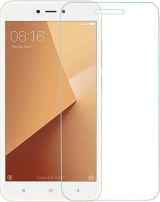 RM WORLD Tempered Glass Guard for Mi Redmi Y1 Lite(Pack of 1)