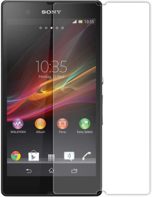 RM WORLD Tempered Glass Guard for Sony Xperia Z(Pack of 1)