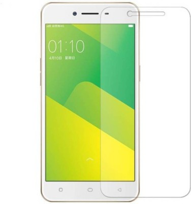 RM WORLD Tempered Glass Guard for Oppo A37(Pack of 1)