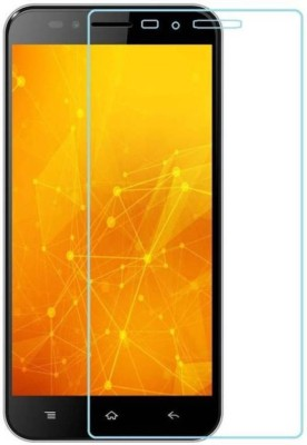 RM WORLD Tempered Glass Guard for Intex Aqua Turbo 4G(Pack of 1)