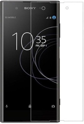 MRNKA Tempered Glass Guard for Sony Xperia XA1 Plus(Pack of 1)