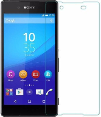 MRNKA Tempered Glass Guard for Sony Xperia Z3 Plus (Pack Of 1)(Pack of 1)