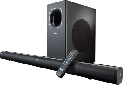 MarQ by Flipkart FS23S 120 W Bluetooth Soundbar(Black, Stereo Channel)