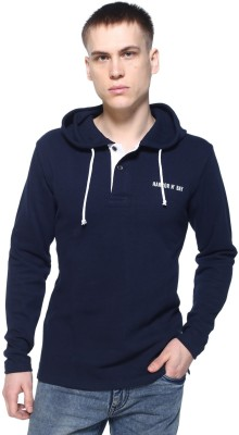 HARBOR N BAY Full Sleeve Solid Men Sweatshirt at flipkart