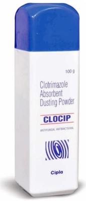 Clocip Anti-Bacterial & Anti-Fungal Clotrimazol Powder(100 g) at flipkart