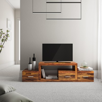 Perfect Homes by Flipkart Paradiso Engineered Wood TV Entertainment Unit(Finish Color - Wenge)