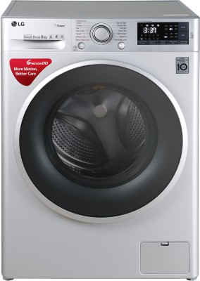 LG 9 kg Fully Automatic Front Load Washing Machine Silver(FHT1409SWL) (LG)  Buy Online