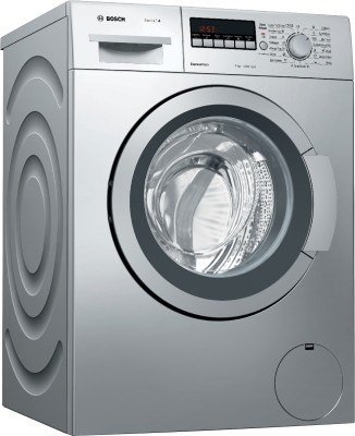 Bosch 7 kg Fully Automatic Front Load Washing Machine with In-built Heater Silver(WAK24264IN)