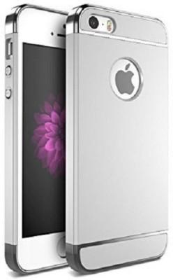 gsenterprises Back Cover for Apple iPhone 5s, 5, 5E Silver