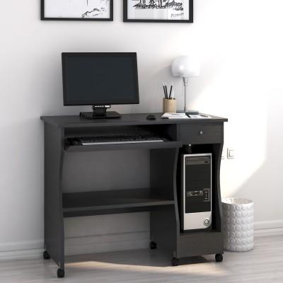 Off On Nill Zenith Engineered Wood, Walnut Computer Desk
