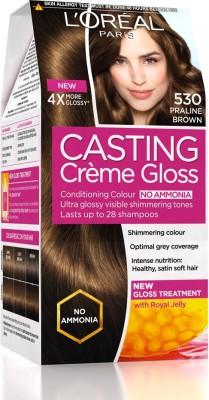 Loreal Paris Casting Creme Gloss Hair Color - 530 Praline Brown