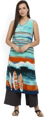 Vivaa Casual Printed, Striped Women