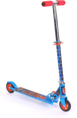 Spiderman Wall Crawler 2 wheel Scooter Blue (Blue)