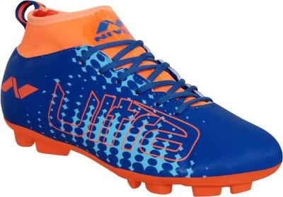 NIVIA Ultra 1 Football Shoes For Men Blue, Orange NIVIA Sports Shoes