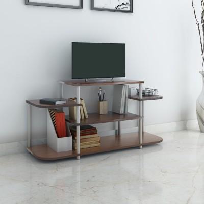 Nilkamal Georgia Engineered Wood TV Entertainment Unit(Finish Color - Teak)
