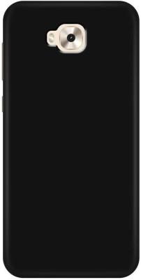 Zelfo Back Cover for Asus Zenfon 4 Selfie(Black, Rubber)