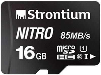 Strontium Nitro 16 GB SDHC Class 10 85 Mbps Memory Card