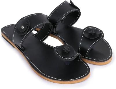 Paduki Women Black Flats