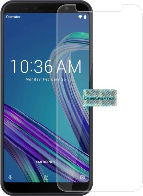Trenzo Tempered Glass Guard for Asus Zenfone Max Pro M1, (Pack Of 5)(Pack of 5)