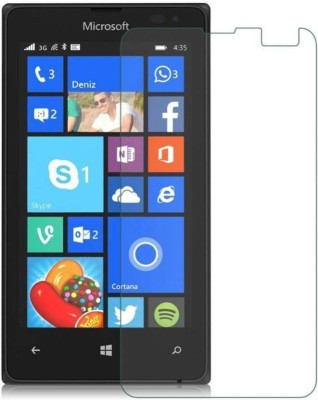 Desirtech Tempered Glass Guard for Nokia Lumia 435(Pack of 1)
