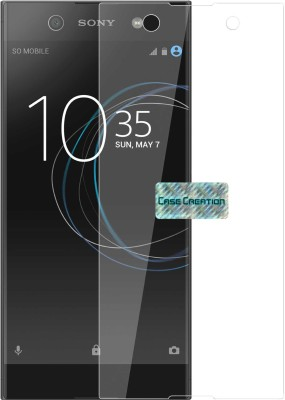"Case Creation Tempered Glass Guard for Sony Xperia L1 5.5"" inch(Pack of 1)"