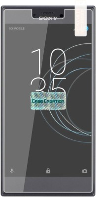 Case Creation Tempered Glass Guard for Sony Xperia R1 Dual (5.2-inch)(Pack of 1)