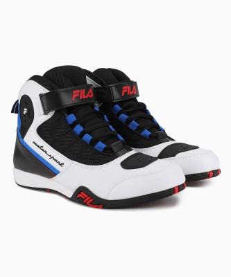 d2a0ec2188 Buy Fila Rannvijay?Range Motorsport Shoes For Men(Black, White) on ...