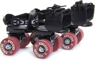 Cosco TENACITY SUPER Quad Roller Skates - Size 12-16 UK(Red)